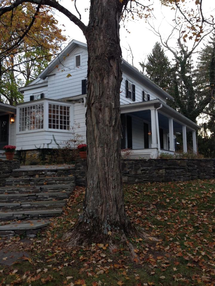 Our Rhinebeck house.